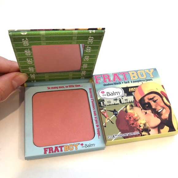 The Balm FratBoy Blush - swatched only